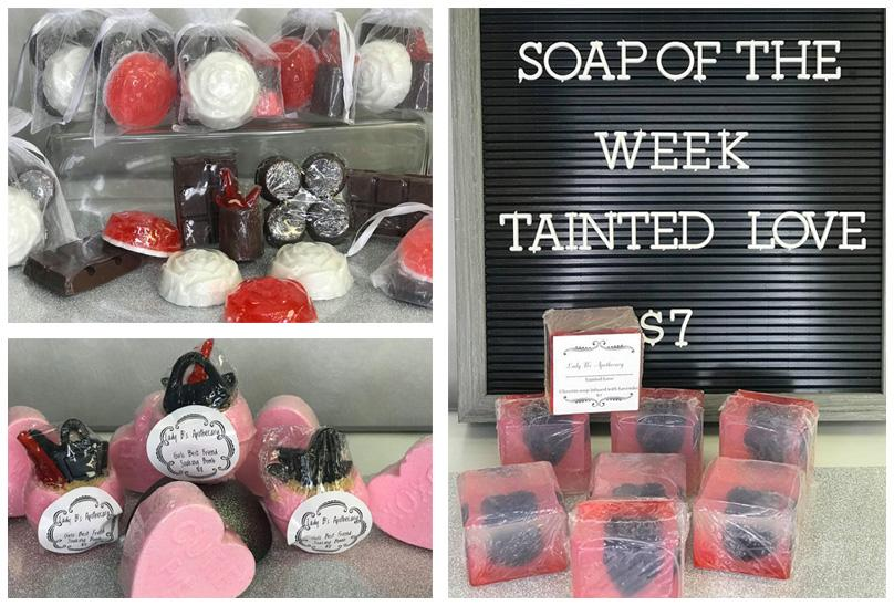 Handmade Soaps and Bath Bombs- perfect gifts for Valentines Day