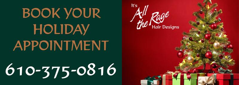 Book your holiday hair appointment