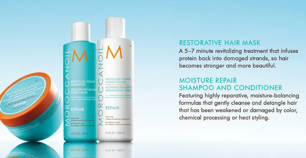 Moroccan Oil moisture Repair Collection