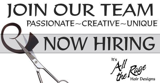 Now hiring Stylists. Join our winning team. Submit your resume now.