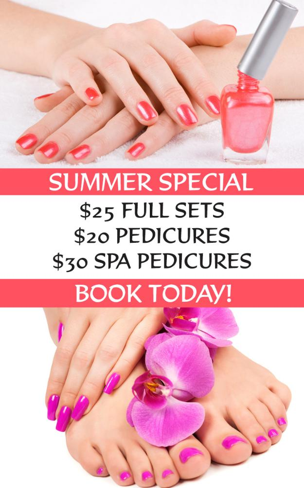 Summer Nail Salon Specials