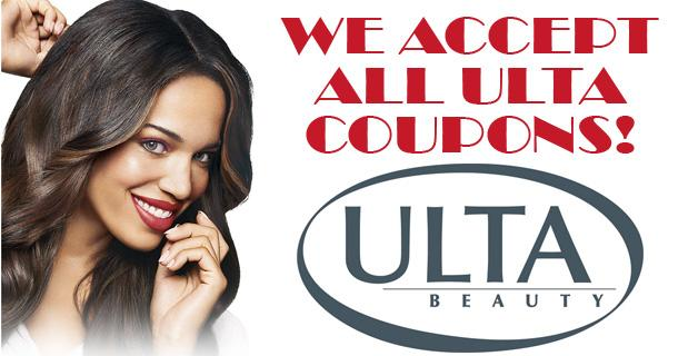 We Accept All valid Ulta Coupons